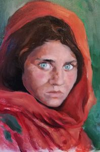 Una Mona Lisa afgana