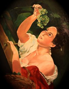 Italian Midday by Karl Bryullov. A Copy