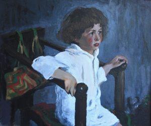 Mika Morozov por Valentin Serov. Una copia