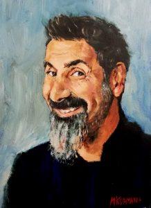Retrato de Serj Tankian