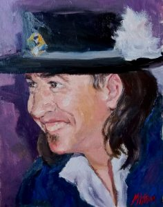 Stevie Ray Vaughan Portrait