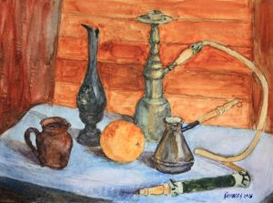 Still Life with a Narghile