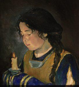 La joven María